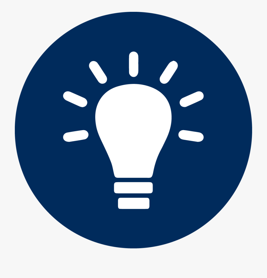 Light Bulb Icon White Clipart , Png Download - White Light Bulb Icon, Transparent Clipart