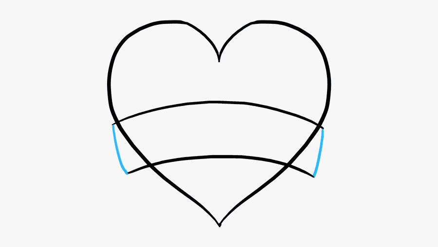"""How To Draw Mother""""s Day Heart - Mothers Day Heart Drawing, Transparent Clipart"""