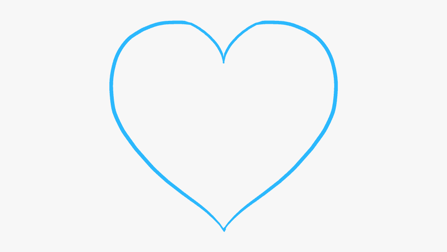 """How To Draw Mother""""s Day Heart - Heart, Transparent Clipart"""