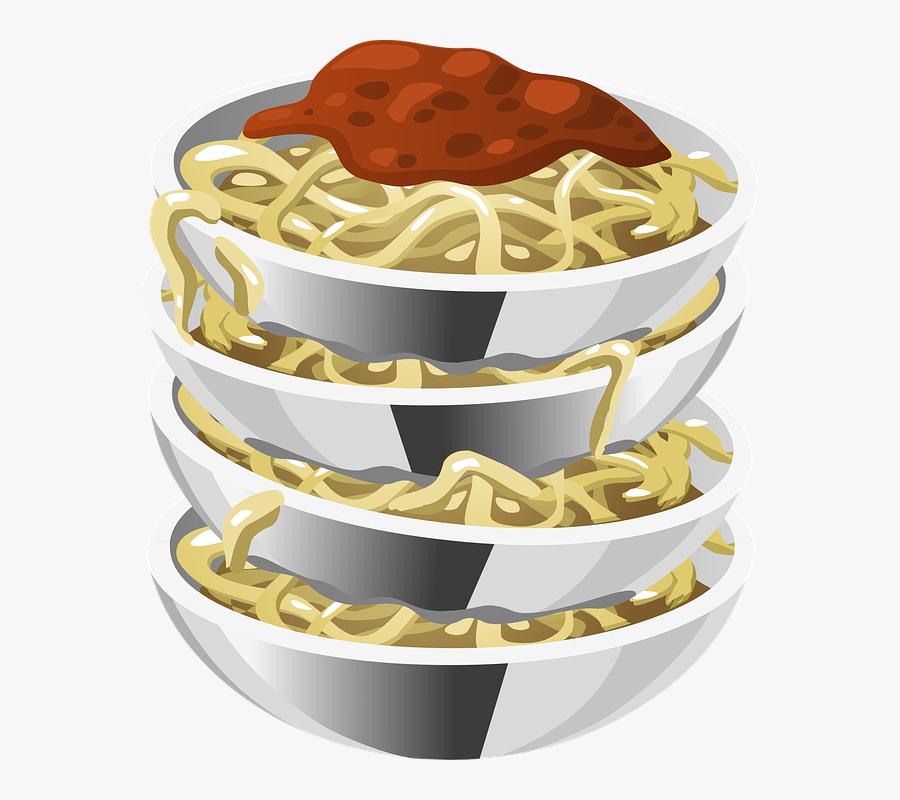 Spaghetti, Sauce, Pasta, Noodles, Foods, Edible - Pasta Clip Art Png, Transparent Clipart