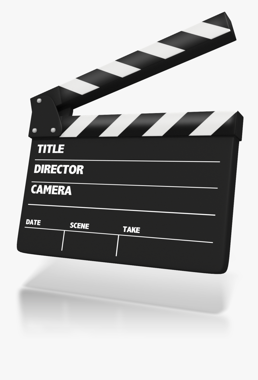 Clapperboard Animation Presentation Clapping Clip Art - Movie Clapper Board Animated, Transparent Clipart