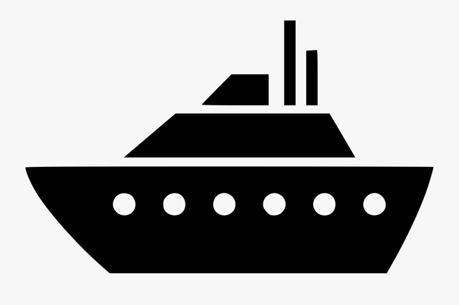 Large Ship Svg Png - Ship Icon Png, Transparent Clipart