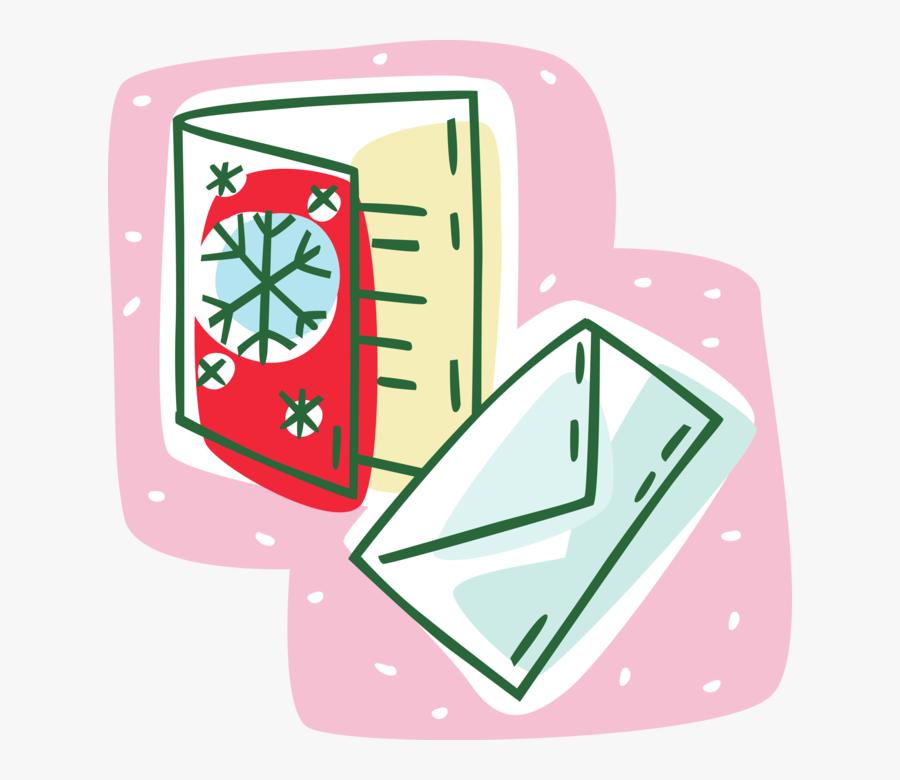 Vector Illustration Of Holiday Festive Season Christmas - Illustration, Transparent Clipart