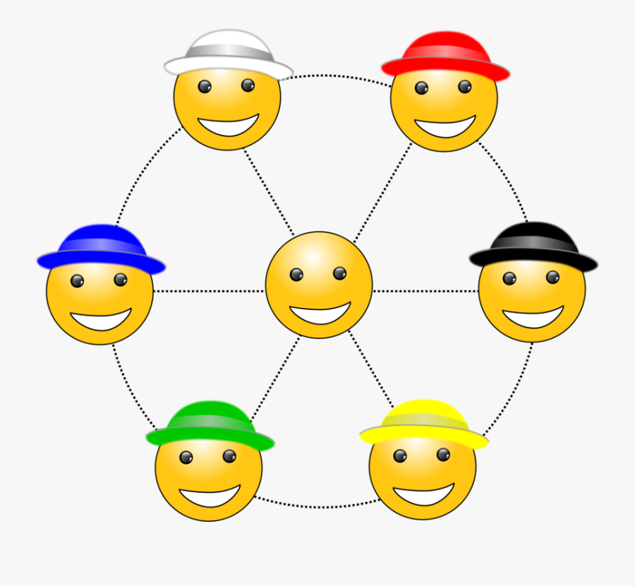 Emoticon,area,smiley - Six Thinking Hats, Transparent Clipart