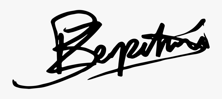Author Signature - Best Baseball Player Signature Logo Png, Transparent Clipart