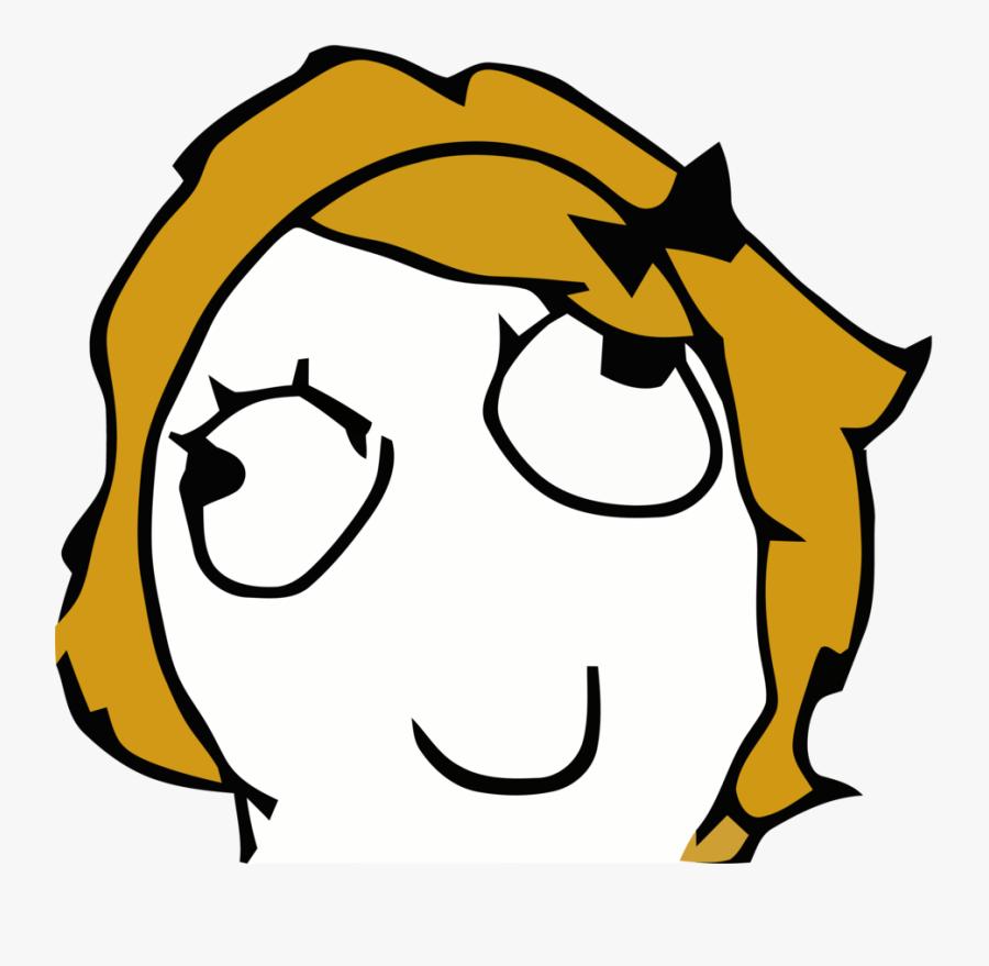 Derpina Meme Face Clipart , Png Download - Derpina Face, Transparent Clipart