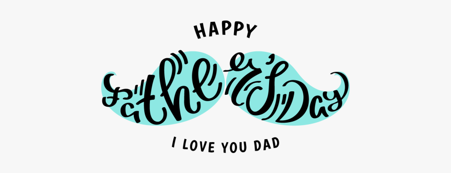 Happy Father S Lettering - Happy Fathers Day Designs, Transparent Clipart