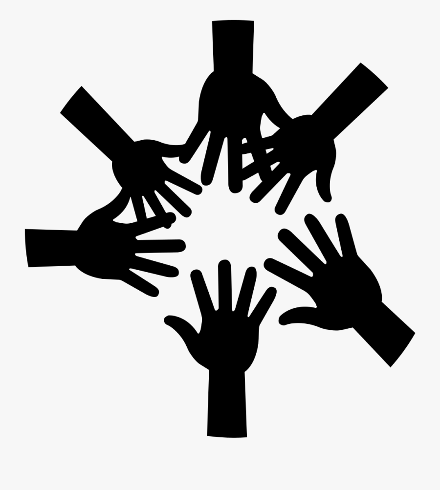 Teamwork Clipart Black And White , Free Transparent ...