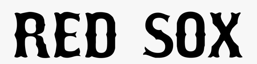 Clip Art Boston Redsox Font - Red Sox Font, Transparent Clipart