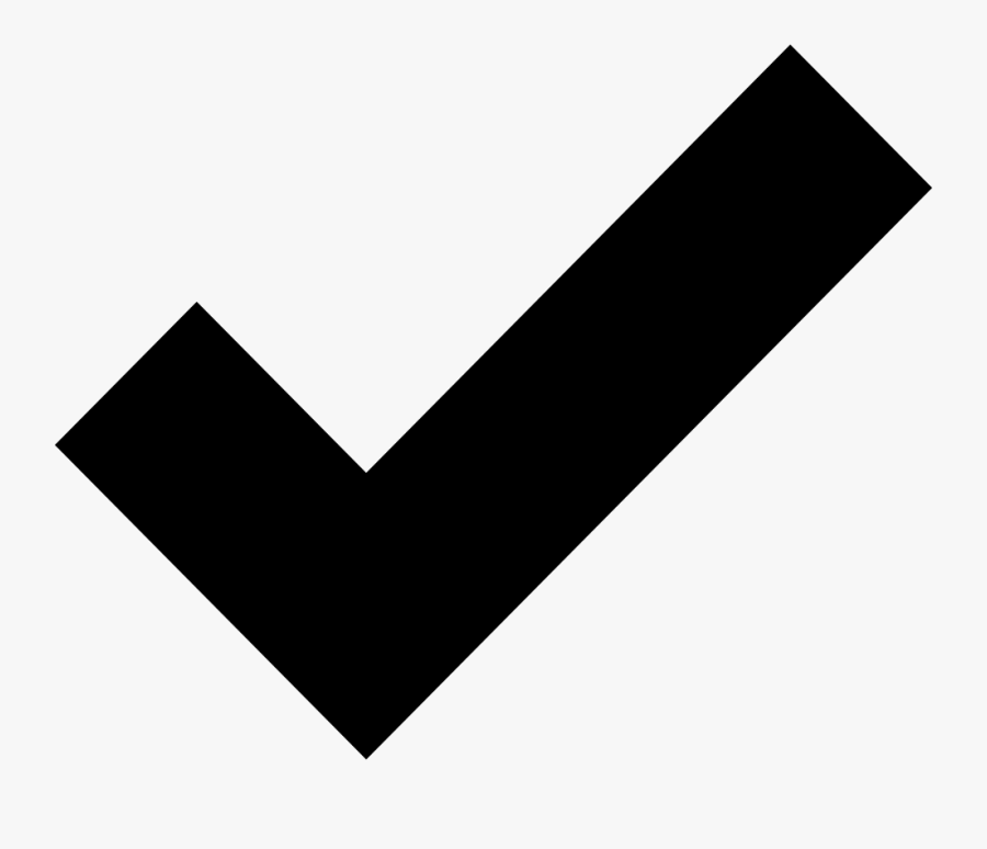 Noun Project Check - Check Mark Illustrator, Transparent Clipart