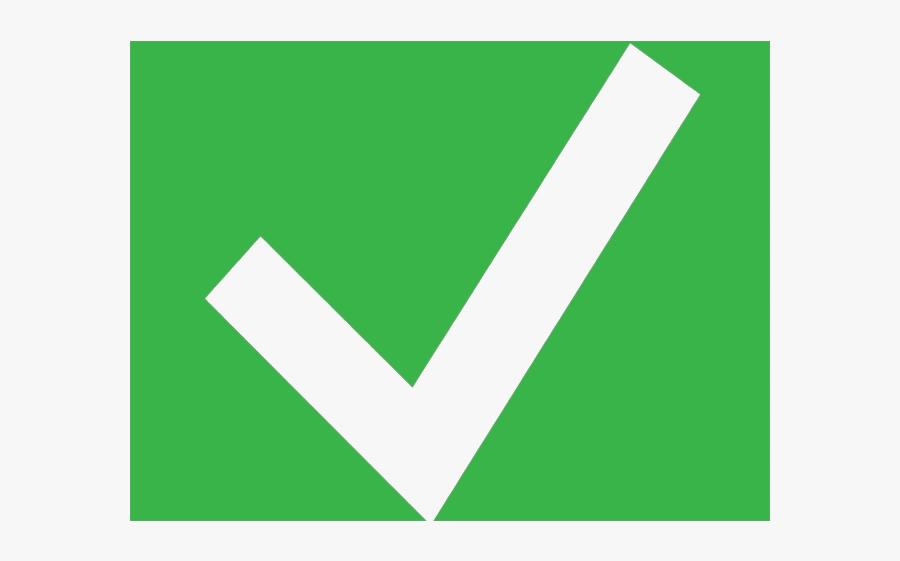 Check Clipart Big Green Mark Box Transparent Png - Green Light Clipart, Transparent Clipart