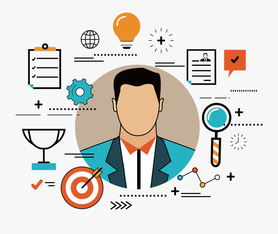 Human Clipart Recruitment Interview - Employee Branding, Transparent Clipart