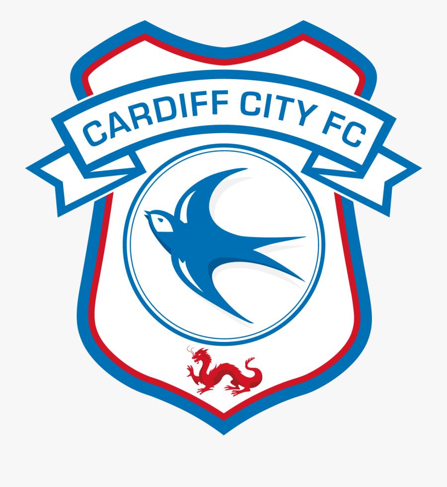 Cardiff City Fc Football Club Crest Logo Vector - Cardiff City Logo Png, Transparent Clipart