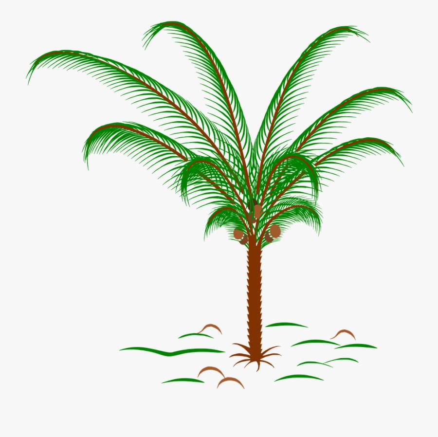Golf Ball Palm Tree, Transparent Clipart