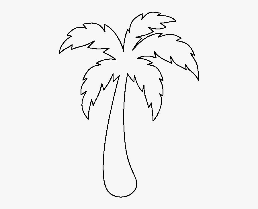Reliable Palm Tree Leaf Template Perfect Printable Molde De Arvore Em Eva Free Transparent Clipart Clipartkey