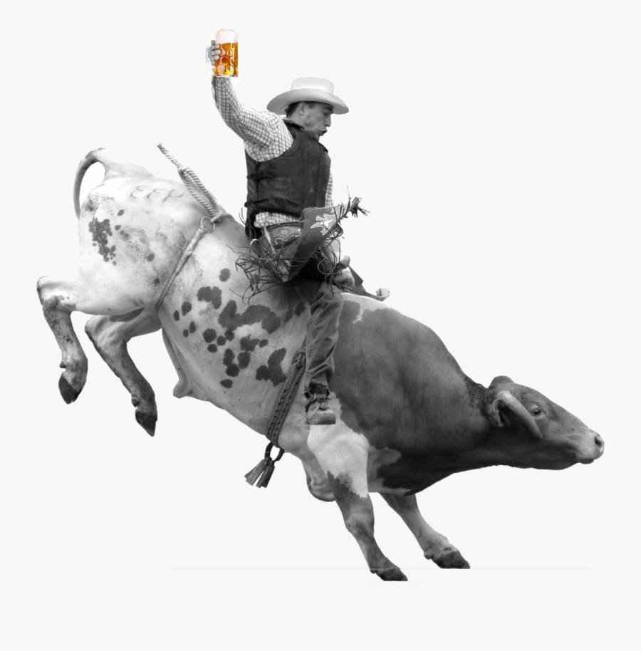 Bull Riding Png, Transparent Clipart