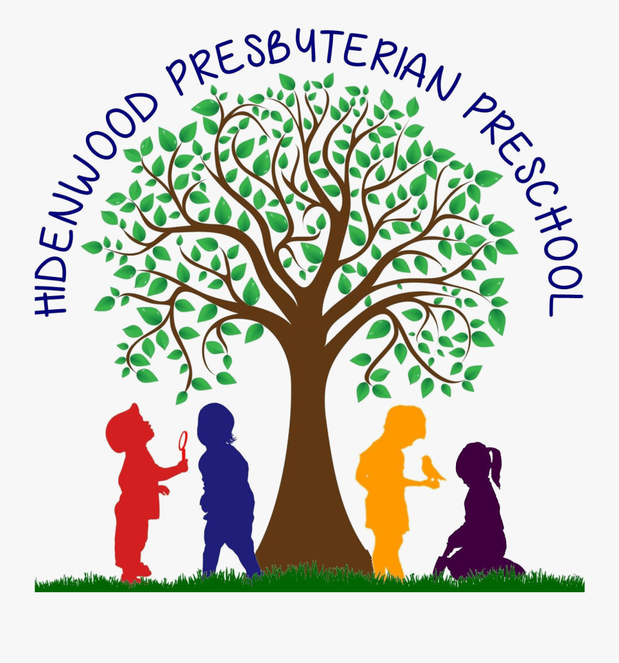 Hidenwood Presbyterian Preschool - Family Tree Free Clipart With Roots, Transparent Clipart