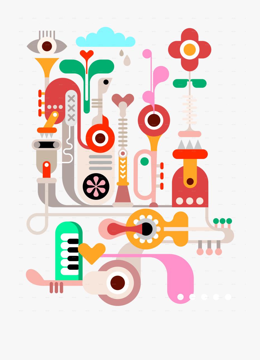 Shutterstock Musical Instruments House Shape, Transparent Clipart