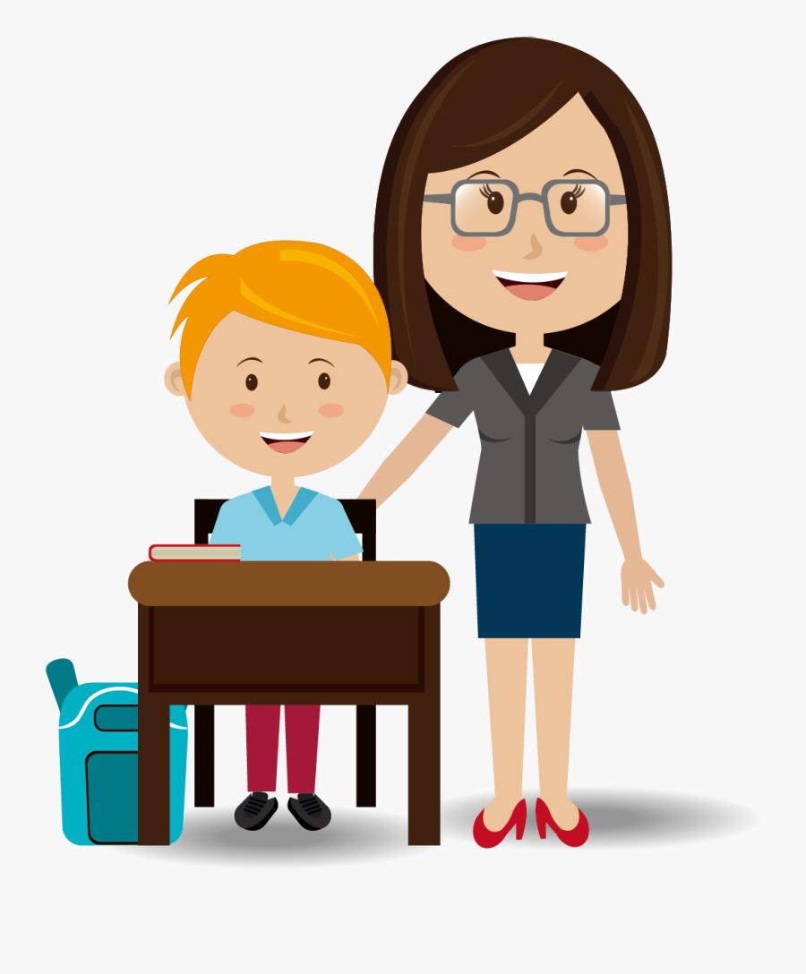 Student Teacher Student Teacher Education Clip Art - Teacher Student, Transparent Clipart