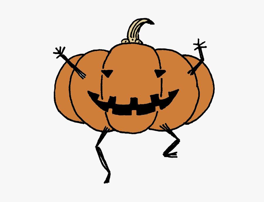 #halloween #pumpkin - Jack-o'-lantern, Transparent Clipart