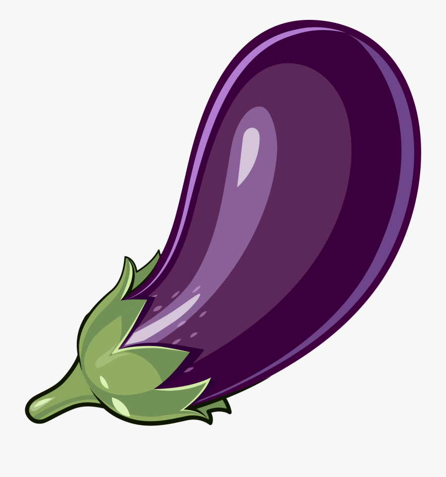Clip Art Stuffing Material Transprent - Eggplant Clipart Png, Transparent Clipart