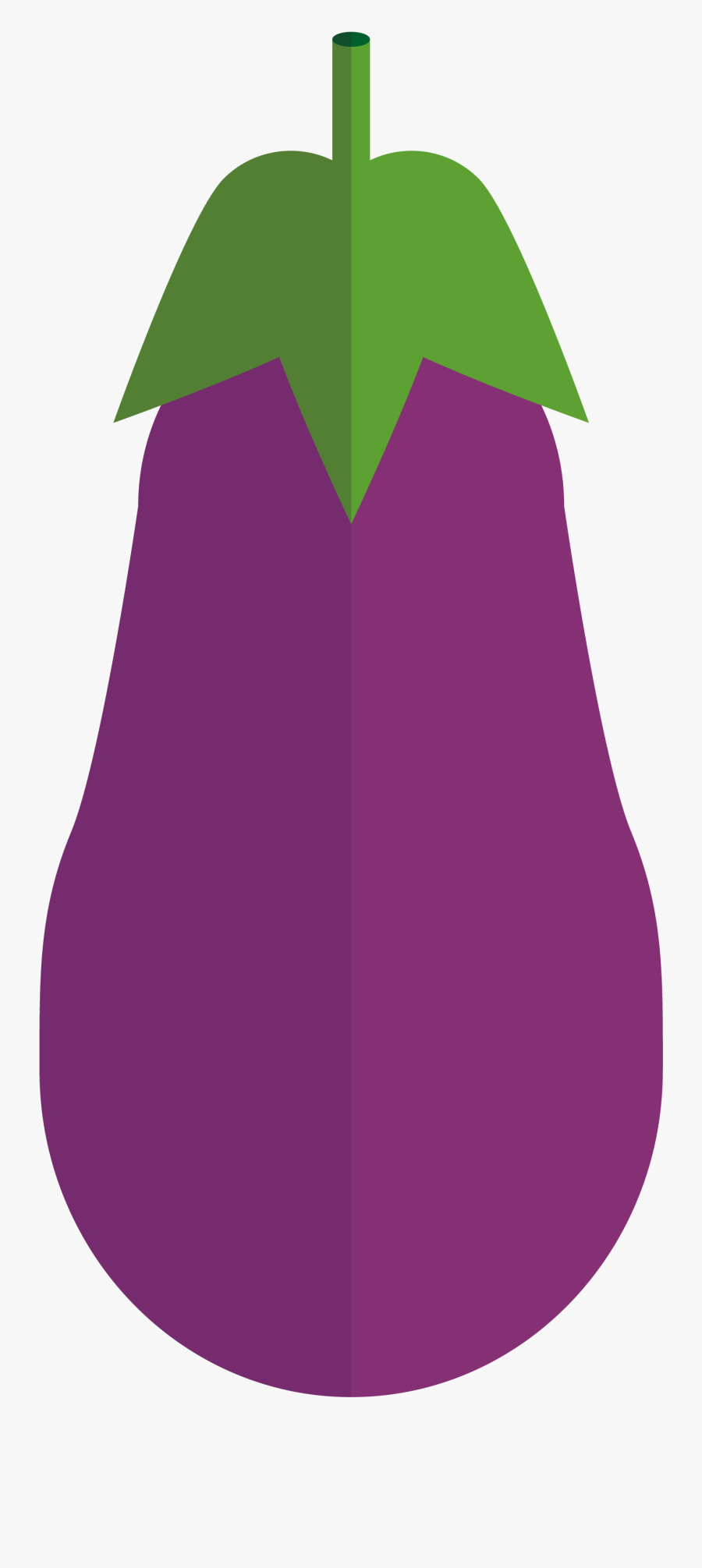 Eggplant Clipart , Png Download - Eggplant Drswing, Transparent Clipart