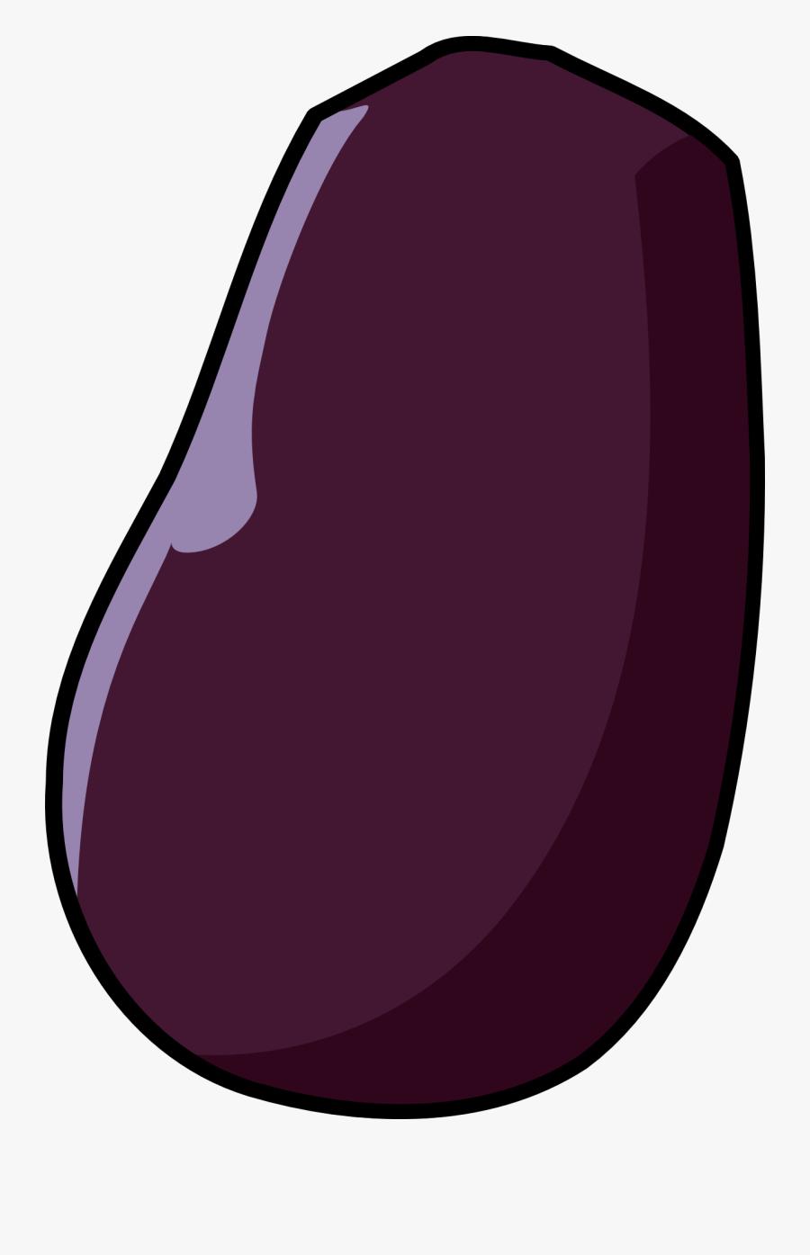 Eggplant, Transparent Clipart