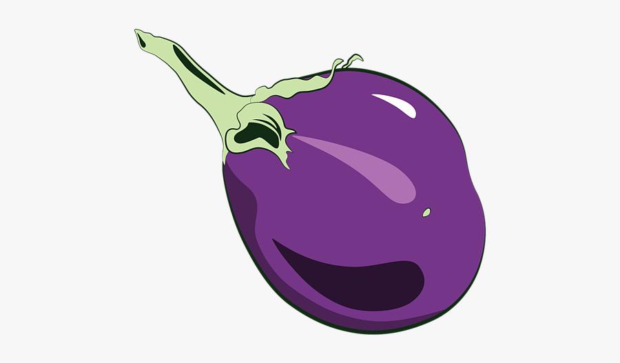 Violet Fruits And Vegetables Clipart, Transparent Clipart