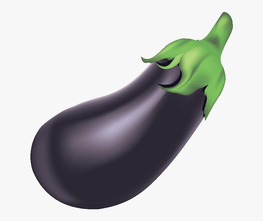 Downloads Royalty Free Fruit Names A Z - Transparent Background Eggplant Emoji Vector, Transparent Clipart