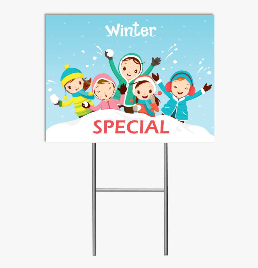 Child Care Website Design, Child Care Websites, Child - Children Playing Snow Together Activity, Transparent Clipart