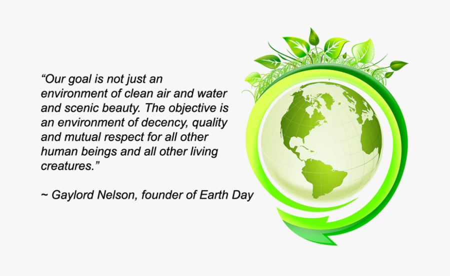 Save Earth Go Green Poster, Transparent Clipart