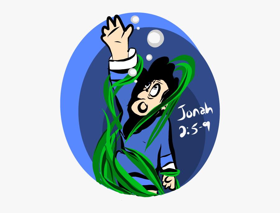 Jonah Bible Story Messages Sticker-4 - Cartoon, Transparent Clipart
