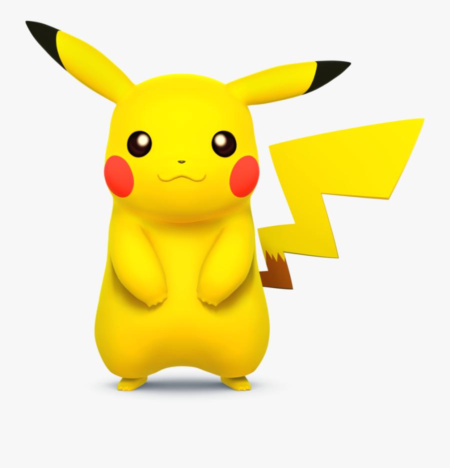 Super Smash Bros - Pikachu Super Smash Bros Wii U, Transparent Clipart