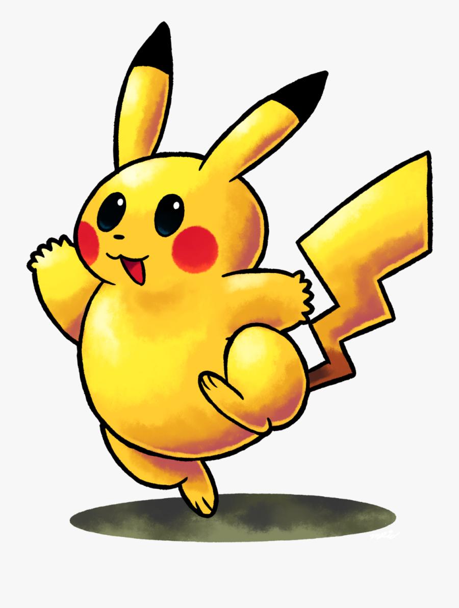 Pikachu Clipart Cute Rainbow - Mario And Luigi Rpg Super Smash Bros, Transparent Clipart
