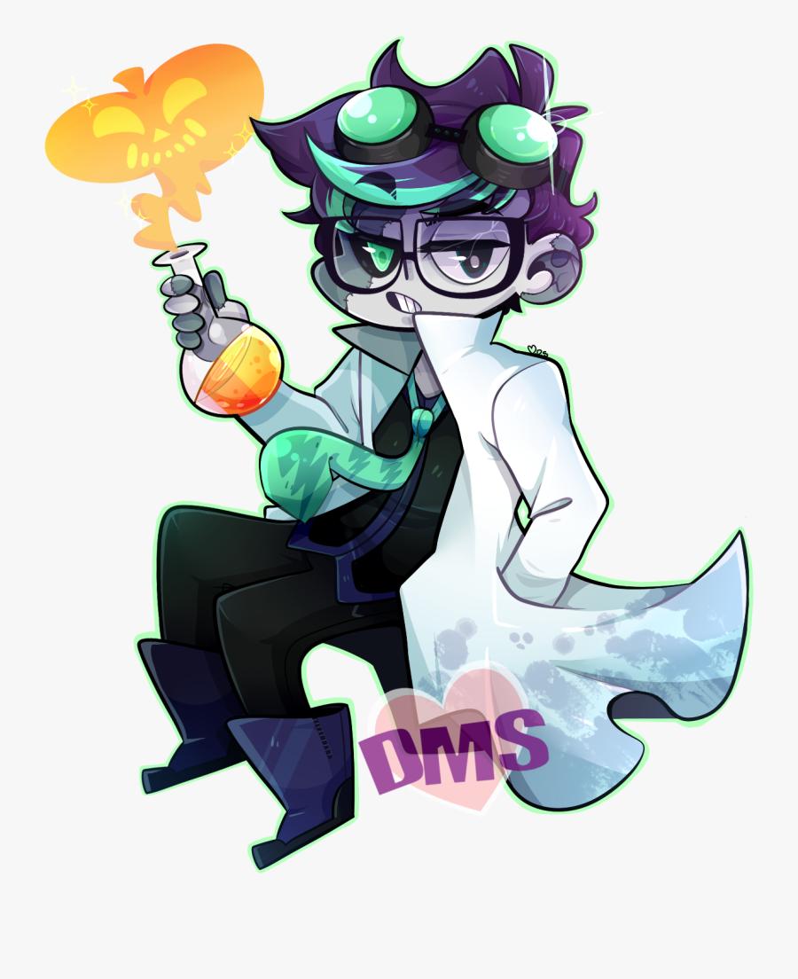 Mad Scientist Fanart, Transparent Clipart