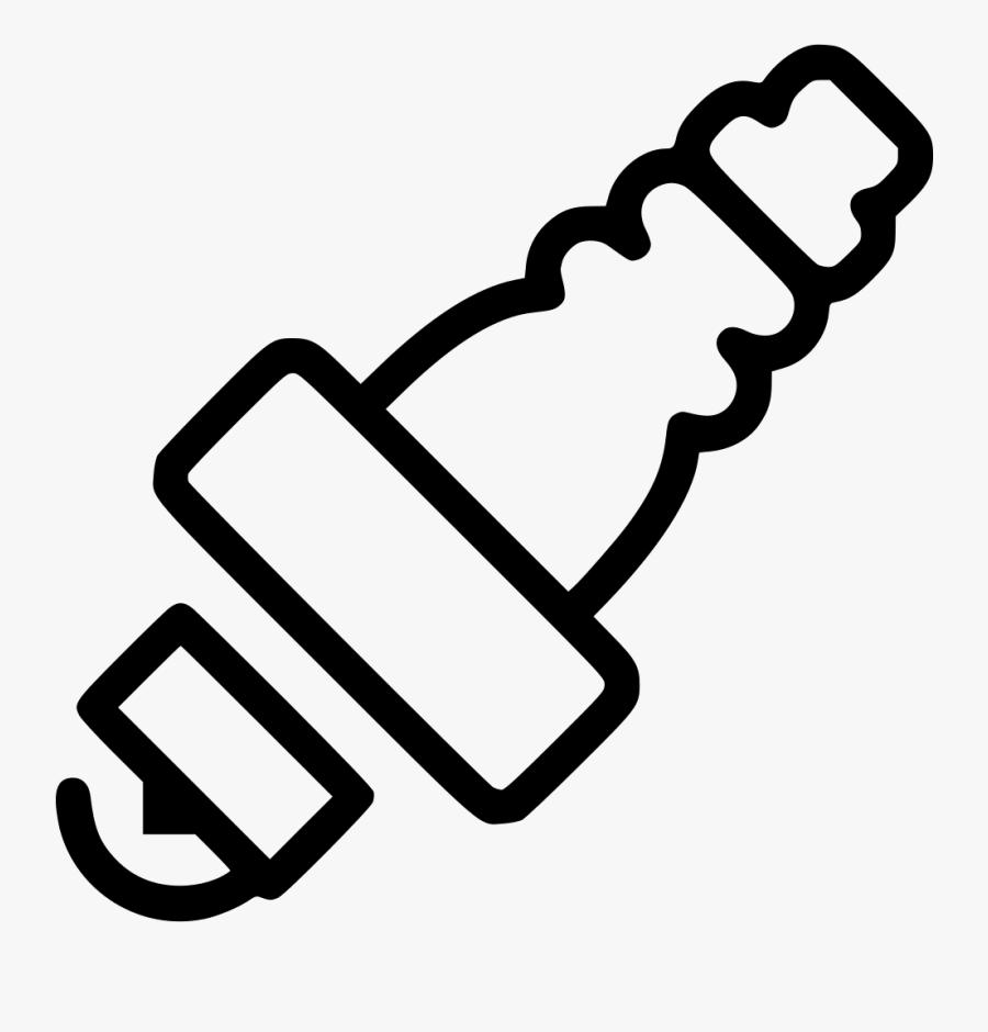 Spark Plug - Car Spark Plug Icon, Transparent Clipart