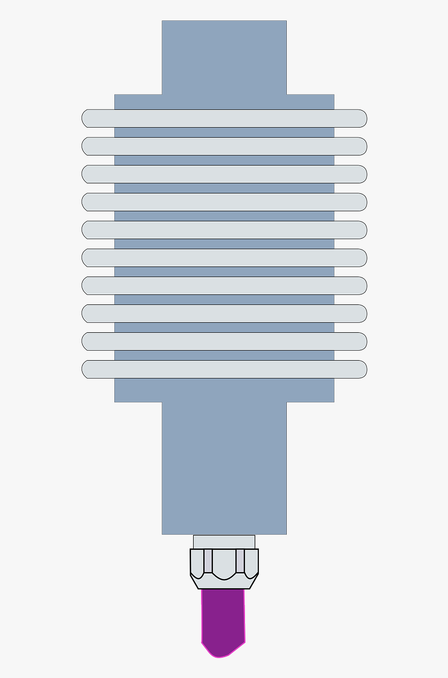 Spark Plug Sparkling Plug Electrical Free Picture - Loadcell Icon, Transparent Clipart