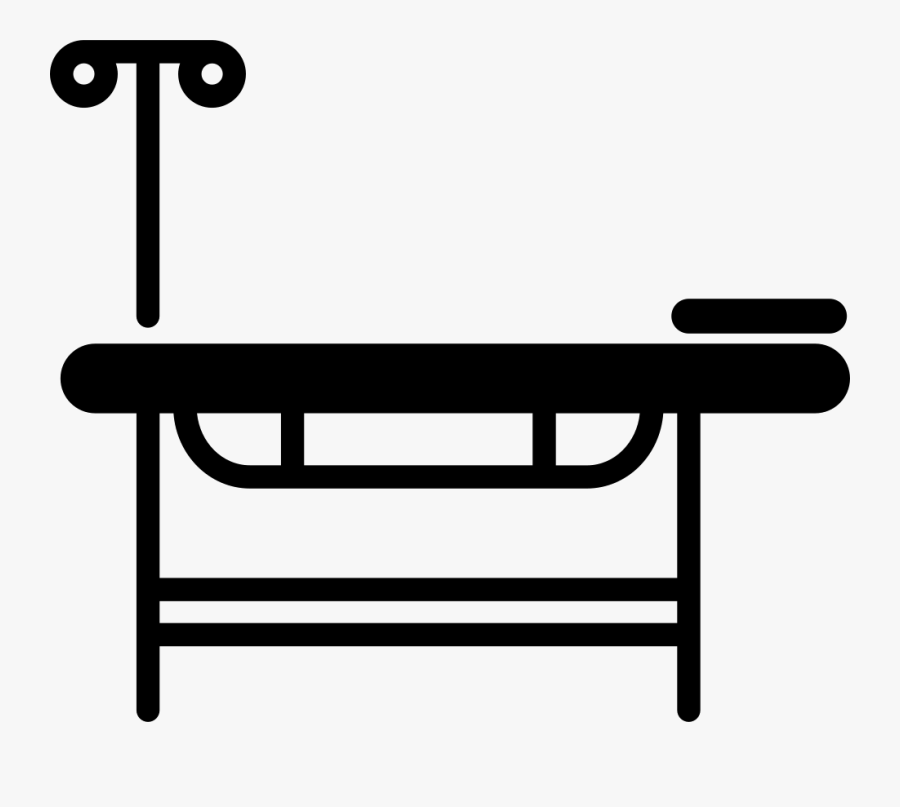 Transparent Hospital Bed Png