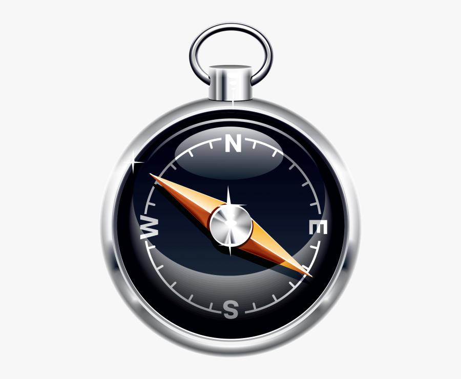 Compass Png Clip Art Transparent Image Free Download - 3d Compass Icon Transparent, Transparent Clipart