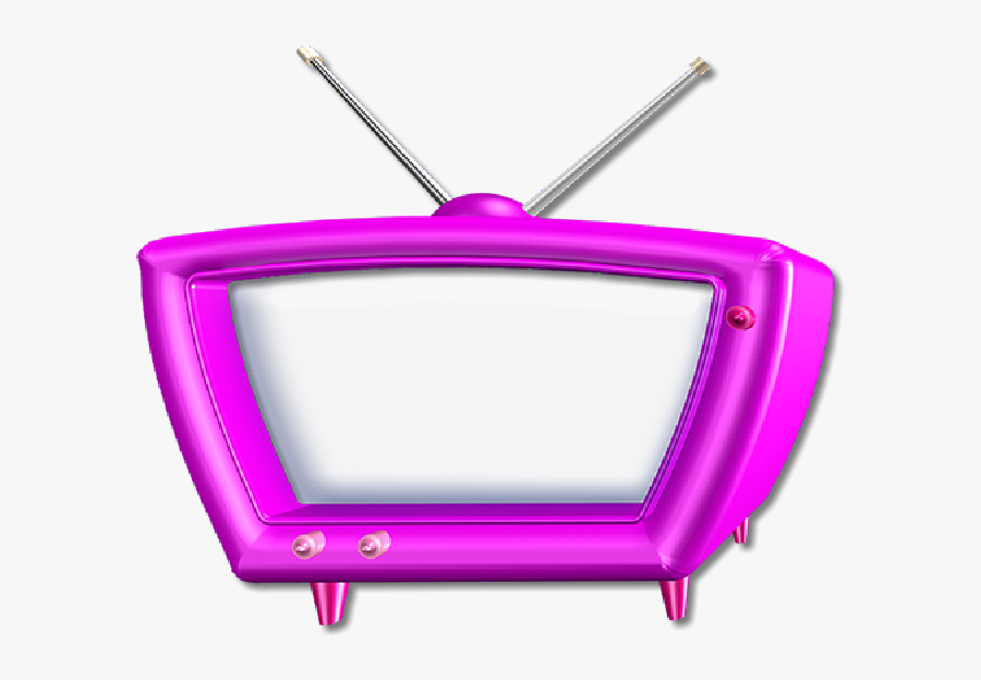 Television Set, Transparent Clipart