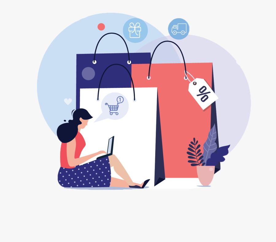 Online Store Type, Transparent Clipart