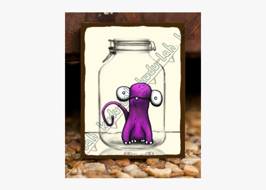Kudu Lah Drawings In Jar, Transparent Clipart