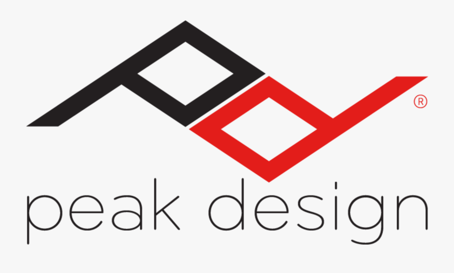 Logo Peak-design Dark - Peak Design Clutch A7iii, Transparent Clipart