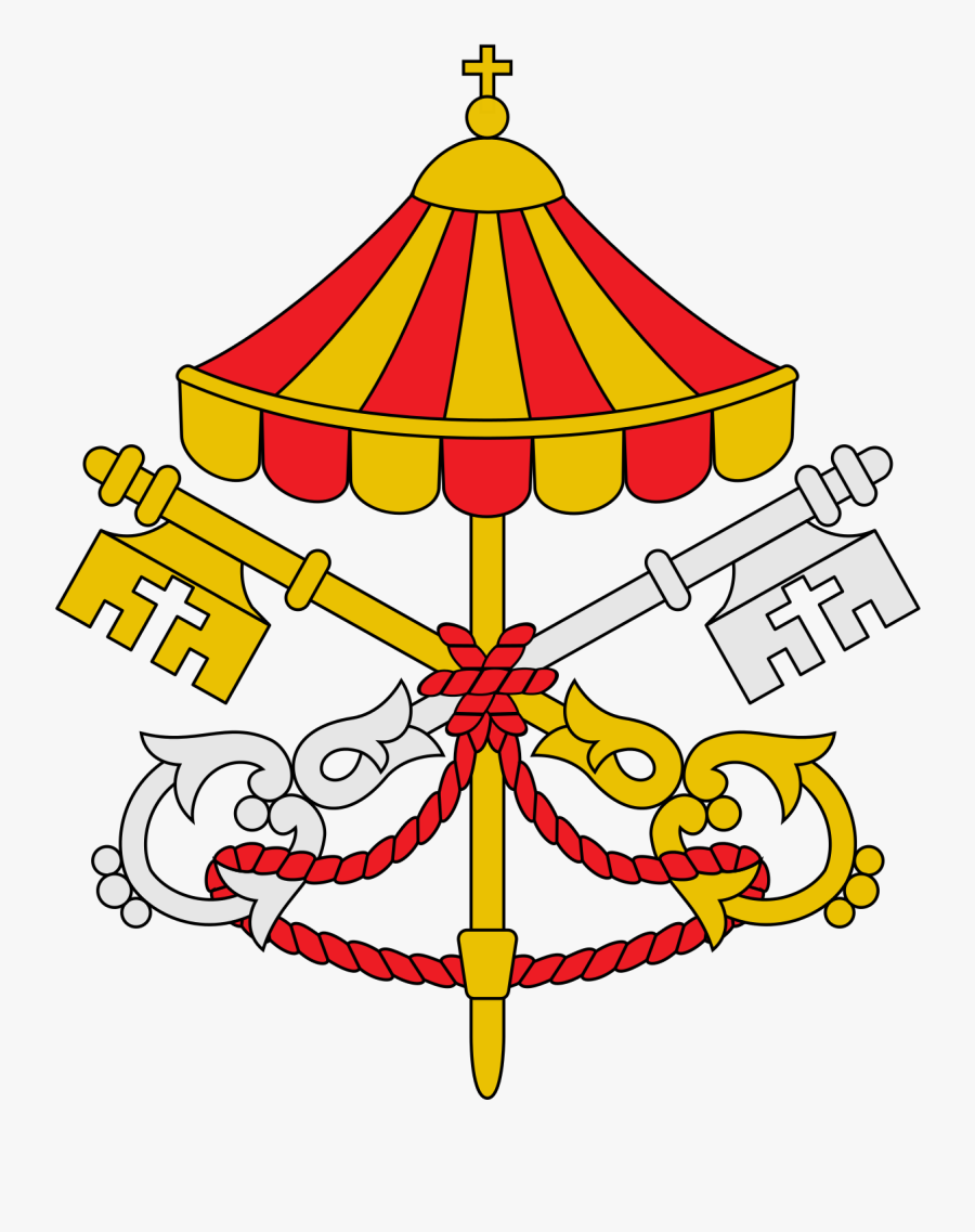 Coats Of Arms Of The Holy See, Transparent Clipart