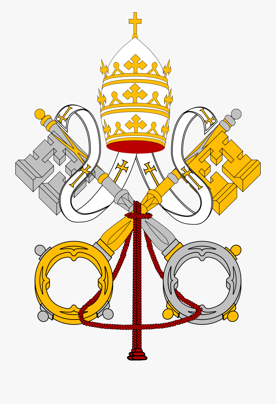 Papal - Coats Of Arms Of The Holy See, Transparent Clipart