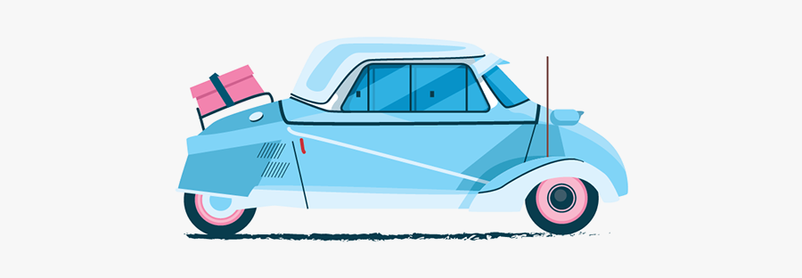 Antique Car, Transparent Clipart