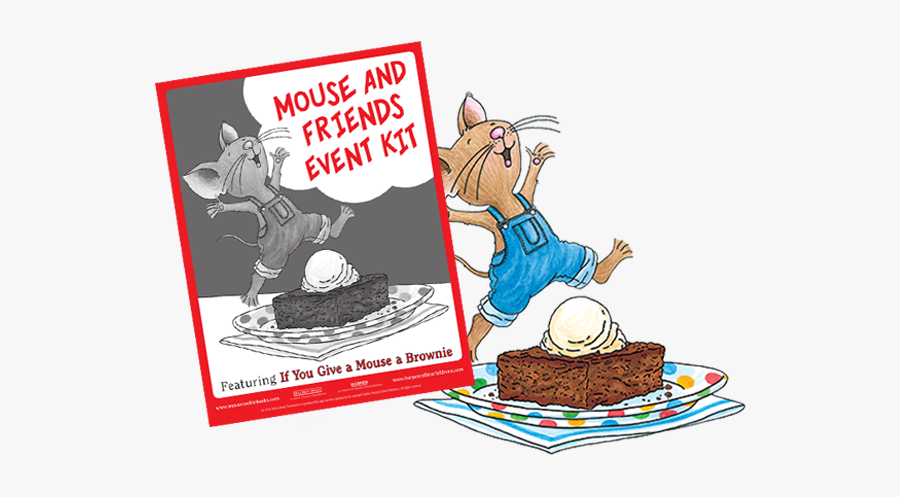 If You Give A Mouse A Brownie Printables, Transparent Clipart