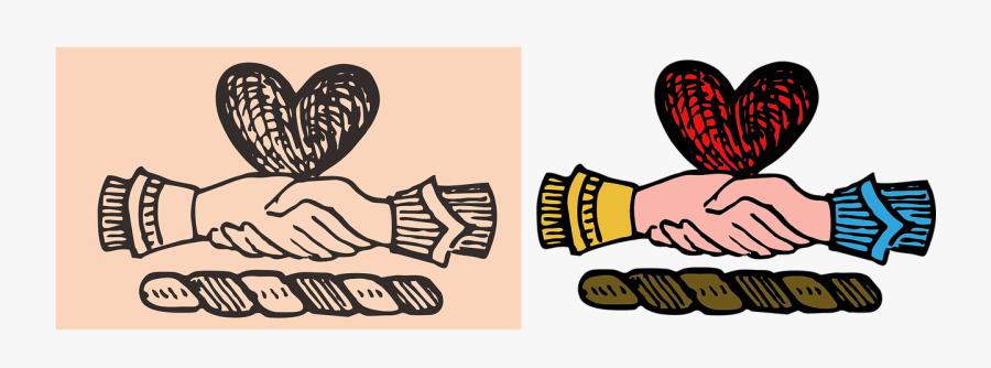 Vintage Illustration, Valentines, Hand Drawn, Vintage - San Valentin Vintage Png, Transparent Clipart