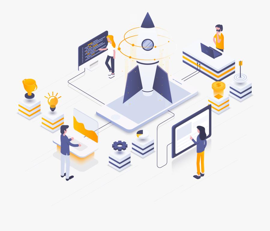 Enterprise Application Development, Transparent Clipart