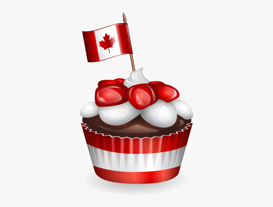 4th Of July Cupcakes Clipart, Transparent Clipart